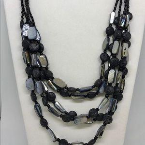 """NWOT Premier Designs """"Natural Mix"""" necklace"""